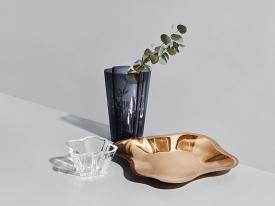 Aalto Metal Bowl Rose Gold 50.4cm