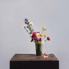 Aalto Vase 22cm Moss Green