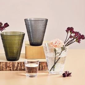 Kastehelmi Vase 15cm Grey