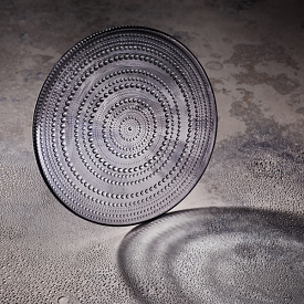 Kastehelmi Plate 31cm Grey