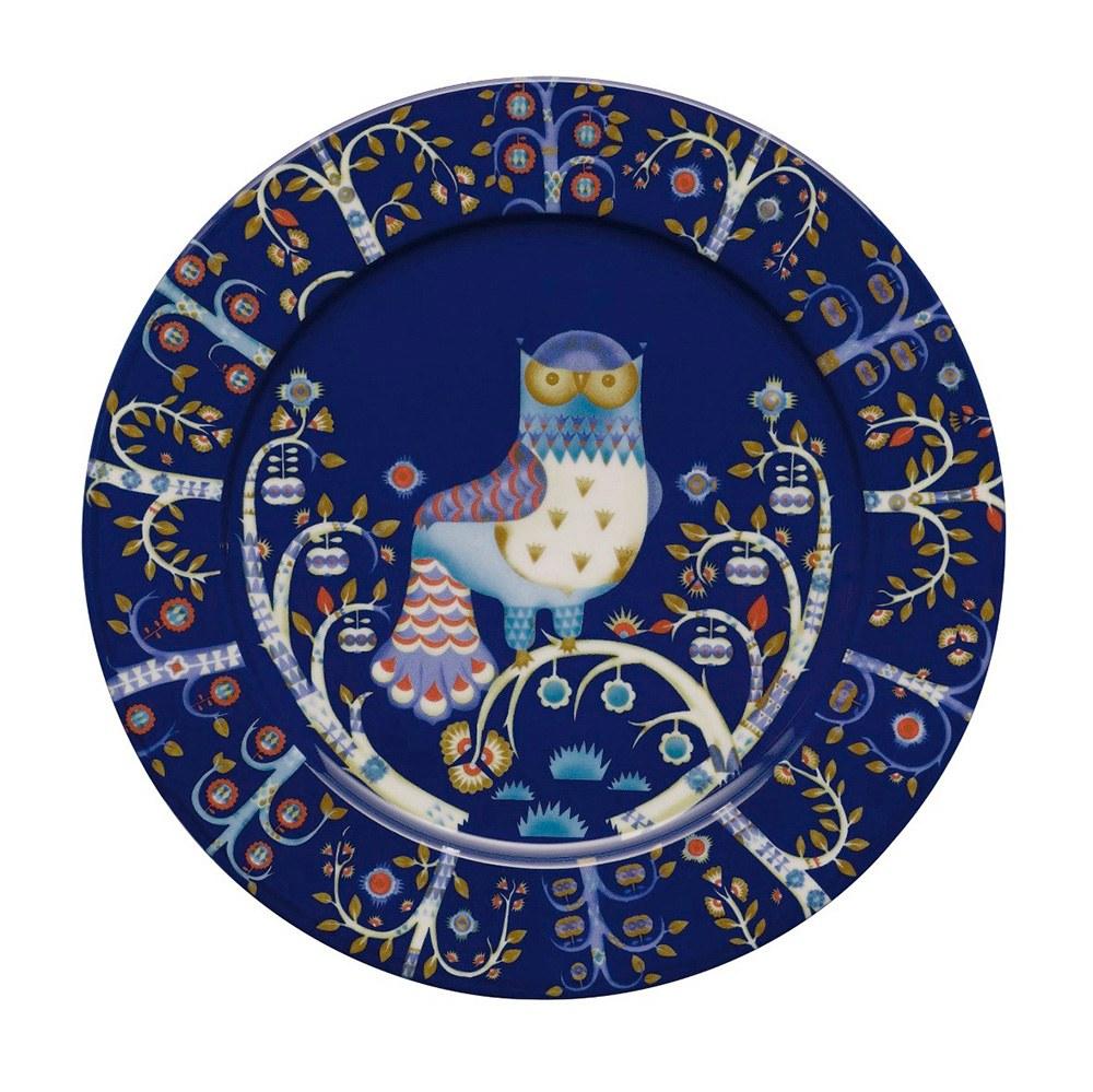 Taika Blue Plate 30cm