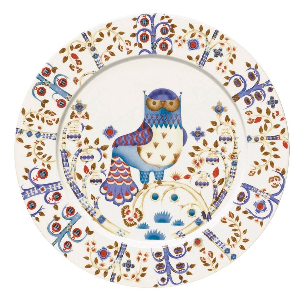 Taika White Plate 30cm