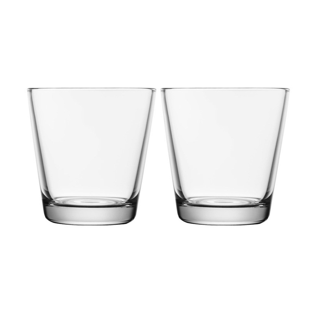 Kartio Tumbler 210ml Clear Pair