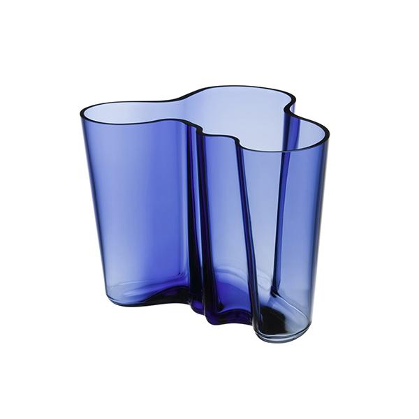 aalto vase 16cm ultramarine blue. Black Bedroom Furniture Sets. Home Design Ideas