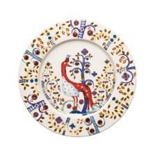 Taika White Plate 22cm