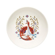Taika White Coupe Plate 22cm