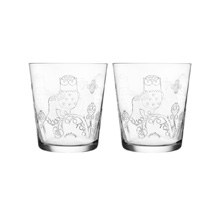 Taika Tumbler 380ml Clear Pair