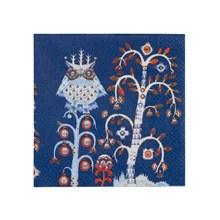 Taika Blue Paper Napkin 33cm