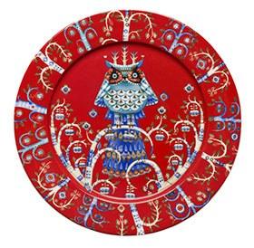 Taika Red Plate 27cm