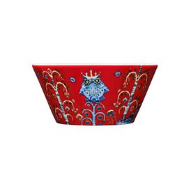 Taika Red Cereal Bowl 600ml