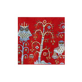 Taika Red Napkin Set 20