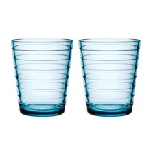 Aino Aalto Tumbler 220ml Light Blue Pair