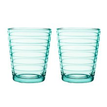 Aino Aalto Tumbler 220ml Water Green Pair