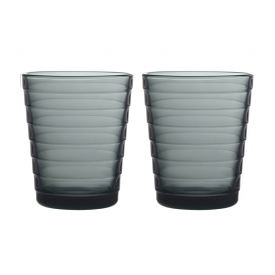 Aino Aalto Tumbler Set of 2 Dark Grey