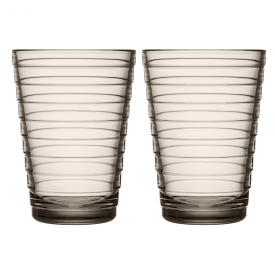 Aino Aalto Highball 330ml Linen Pair