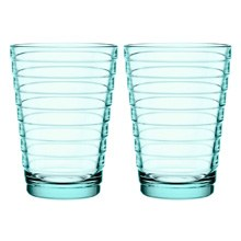 Aino Aalto Highball 330ml Water Green Pair