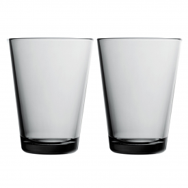 Kartio Highball 400ml Grey Pair