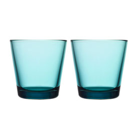 Kastehelmi Tumbler Pair Sea Blue