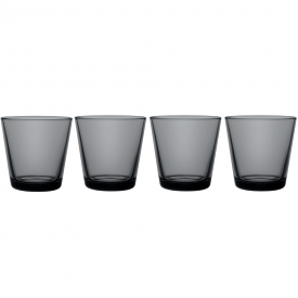 Kartio Tumbler Dark Grey Set Of 4