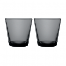 Kartio Tumbler Dark Grey Set Of 2