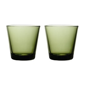 Kartio Tumbler 210ml Moss Green Pair