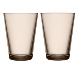 Kartio Highball 400ml Linen Pair