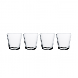 Kartio Tumbler 210ml Clear Set of 4