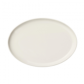 Essence Oval Plate White 25cm