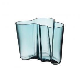 Alvar Aalto Vase 16cm Sea Blue