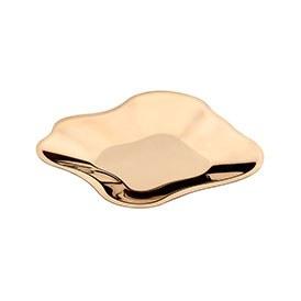 Aalto Metal Bowl Rose Gold 35.8cm