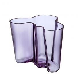 Alvar Aalto Collection Vase 16cm Amethyst