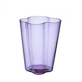 Alvar Aalto Collection Vase 27cm Amethyst