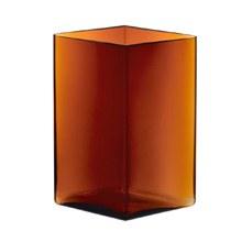 Ruutu Vase 20.5x27cm Copper