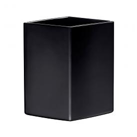 Ruutu Vase 22.5cm Black