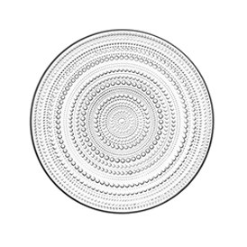 Kastehelmi Plate 31cm Clear