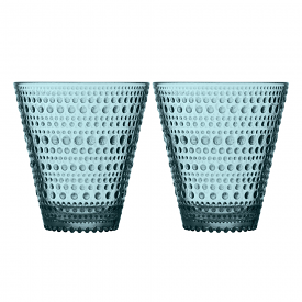 Kastehelmi Tumbler Pair Sea Blue