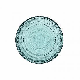 Kastehelmi Plate 17cm Sea Blue