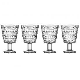 Kastehelmi Universe Glass 260ml Clear Set of 4