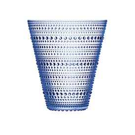 Kastehelmi Vase 15cm Aqua