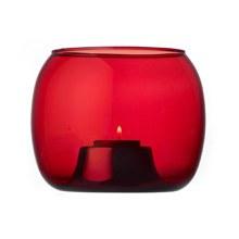 Kaasa Tealight Candleholder 14.1x11.5cm Cranberry