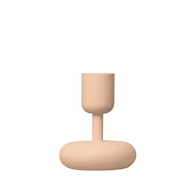 Nappula Candle Holder Powder 10cm