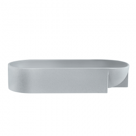 Kuru Bowl 27 x 7.5cm Light Grey