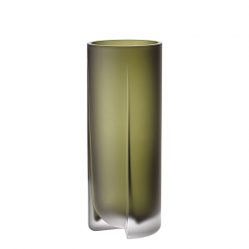 Kuru Vase 25.5cm Moss Green