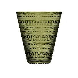 Kastehelmi Vase 15cm Moss Green