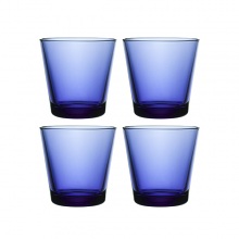 Kartio Tumbler 210ml Ultramarine Blue Set of 4