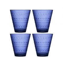 Kastehelmi Tumbler Ultramarine Blue Set of 4