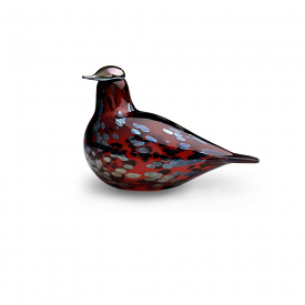 Birds By Toikka Ruby Bird Cranberry 12.5x20cm