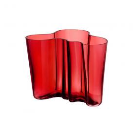 Aalto Vase 16cm Cranberry