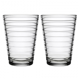 Aino Aalto Highball 330ml Clear Pair