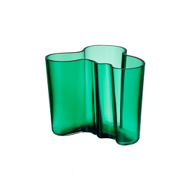 Aalto Vase 12cm Emerald